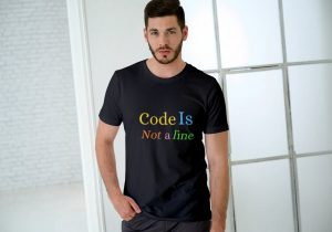 Code is not a line